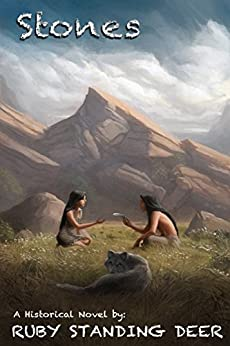 Stones (Shining Light's Saga Book 3) by [Ruby Standing Deer, Lane Diamond, Megan Harris]
