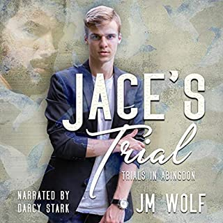Jace's Trial     Trials in Abingdon, Book 1              By:                                                                                                                                 JM Wolf                               Narrated by:                                                                                                                                 Darcy Stark                      Length: 9 hrs and 11 mins     Not rated yet     Overall 0.0