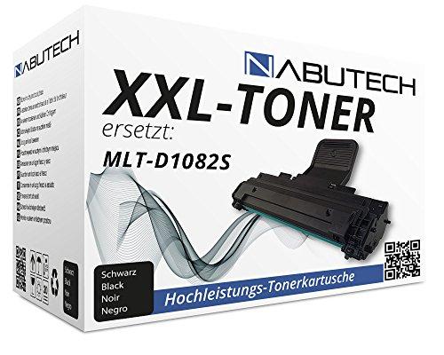 Nabutech toner vervangen Samsung MLT-D1082S Samsung ML 1640/1640 K / 1641/1641 K / 1642 K / 1645/2240 / 2240 K / 2241/2241 K zwart