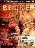Becker Live - Ahlen 2010 Konzert-Poster A1