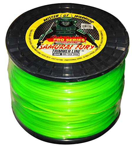 Sale!! Green Touch Samurai Fury .95/3lb Square Trimmer Line