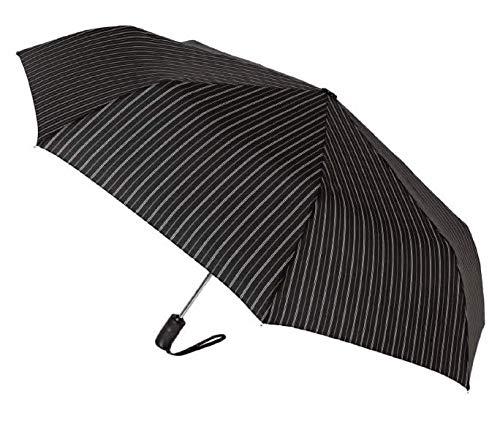 Paraguas Plegable automático Hombre Vogue 767V (Negro/Gris)