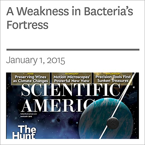 A Weakness in Bacteria's Fortress audiobook cover art