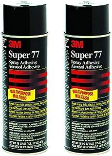 2-Pack 3M Super 77 Spray Adhesive