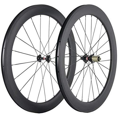 SunRise Bike Carbon Wheels 60mm Depth 25mm Width...