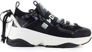 DSQUARED2 Luxury Fashion Womens SNQ004016801987M465 Black Sneakers | Fall Winter 19