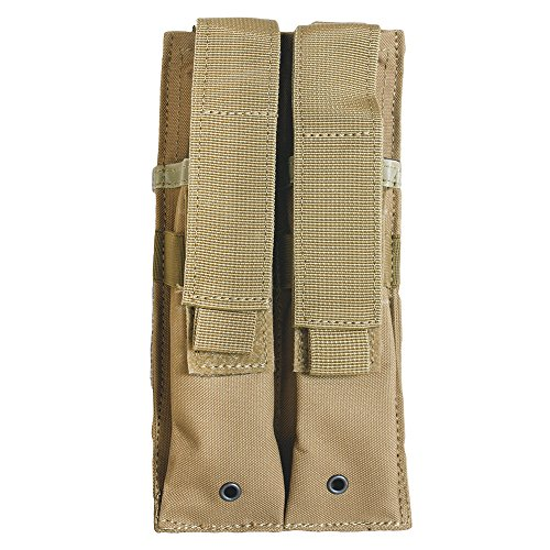 Fox Outdoor Dual MP 5 Mag Pouch Coyote