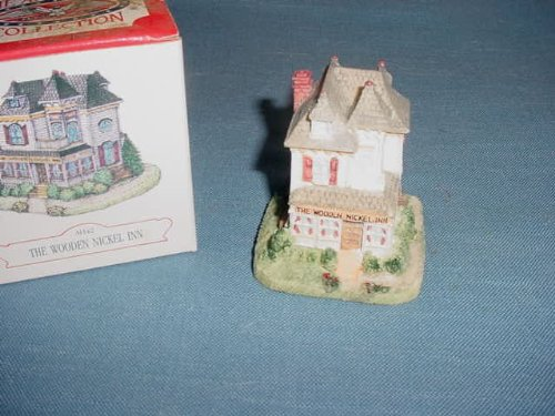 Liberty Falls Village AH42 The Wooden Nickel Inn Americana Collection