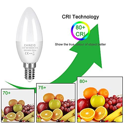 CHINZIO Bombillas LED