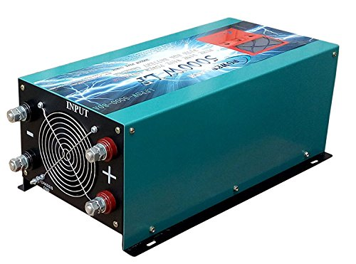 with 80A BC//UPS DC 24V 5000W LF Pure Sine Wave Power Inverter DC 24V to AC 110V