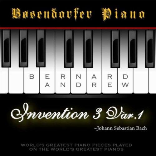 J. S. Bach: Invention No. 3 in D Major, BWV 774: Variation No. 1 (Bosendorfer Piano Version)