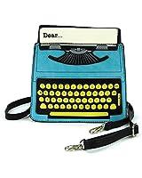 Vintage Typewriter Crossbody Bag