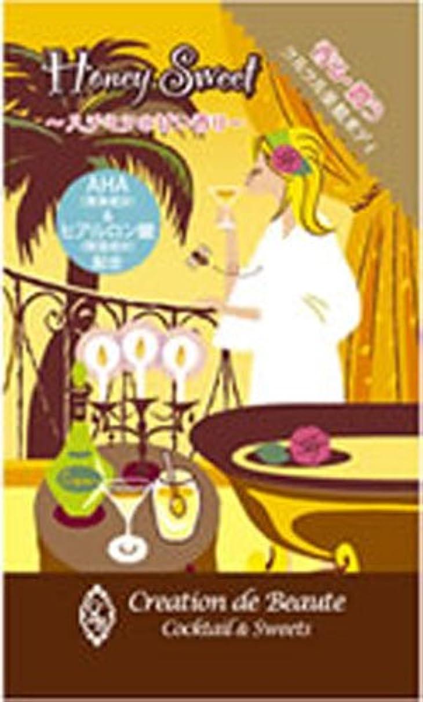 無効娘授業料クレアシオン デ ボーテ カクテル&スイーツ ハニースイートの香り 25g×12袋 <26924>
