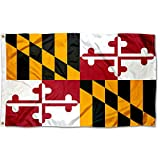 Sports Flags Pennants Company State of Maryland Flag 3x5 Foot Banner