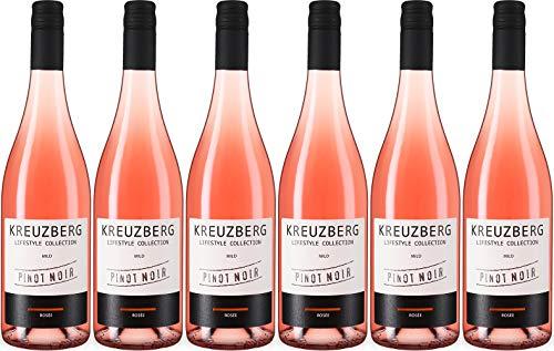Kreuzberg Pinot Noir Rosé 2020 Lieblich (6 x 0.75 l)