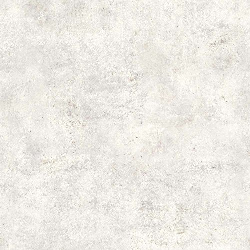 Rasch Tapeten 939521 Vliestapete in Grauer Beton-Optik – 10,05m x 53cm (L x B) Vlies Tapete Rasch Kollektion Factory III, Hellgrau, 10,05-0,53