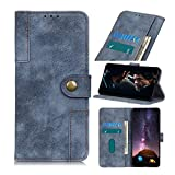 TOPOFU Hochwertige Leder Handyhülle für Samsung Galaxy