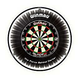 Brighter by design. Discreet, lightweight and unforgettable light performance. Clarity to inspire your darts. Dynamic light delivery right where you need it - no side glare. Intuitive fit for any dartboard. Dartboard / Surround not included
