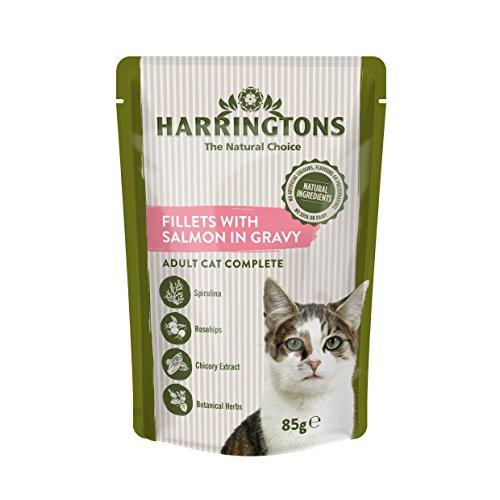 Harrington's Katzenfutter, komplettfutter, Lachs in der Soße, 24 x 85 g