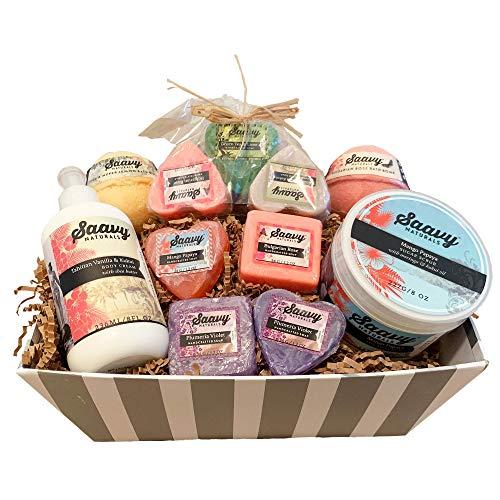 Vegan Spa Gift Basket