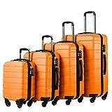 COOLIFE Luggage 4 Piece Set Suitcase Spinner Hardshell Lightweight TSA Lock