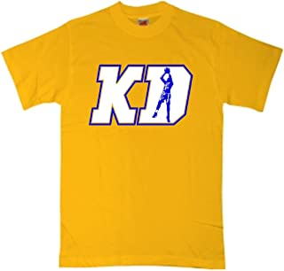 The Silo Gold KD Durant Golden State KD Logo T-Shirt
