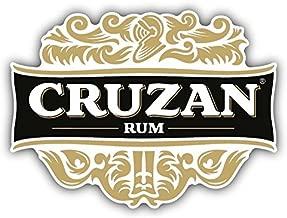 valstick Cruzan Rum Virgin Island Drink Car Bumper Sticker Decal, 3'' Longer Side