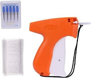 SUPVOX Pistola etiquetadora etiqueta etiquetadora precios 5 agujas de repuesto y 1000 hilos para ropa calcetines sombreros