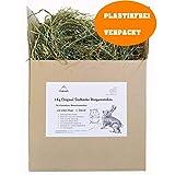 Floka69® 1 Kg Original Südtiroler Bergwiesenheu für Kaninchen Meerschweinchen Hamster und andere Nager I Wiesenheu I Heu für Kleintiere