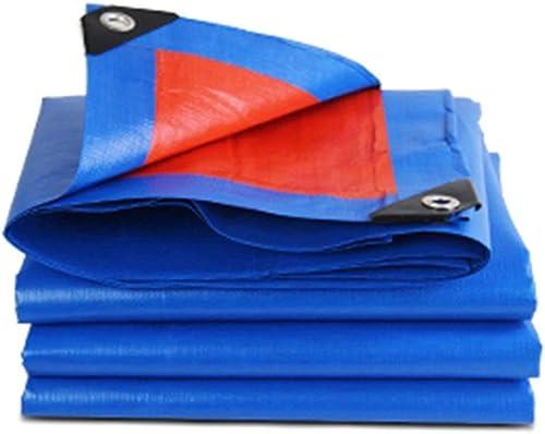 Bache épaisse écran Solaire D'extérieur Multifonctionnel Imperméable Tissu Linoléum Résistant à l'usure Plusieurs Tailles Peuvent être Personnalisés GMING (Couleur   Bleu, Taille   5x6M)