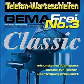 Telefonwarteschleifen Gema Frei No3 Classic