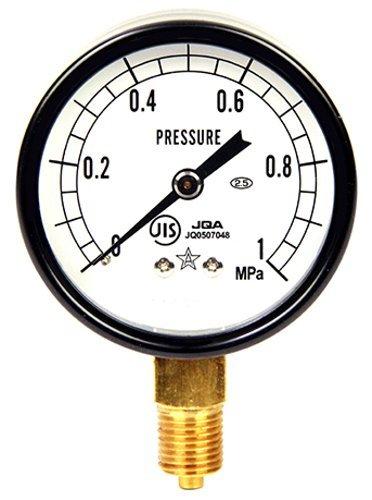 右下精器製造 右下精器 汎用圧力計A60 G14 S-21 1.0MPA [6411]