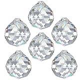 AMBROS - Kristall 6x Rainbow Crystal Ball Diameter 30mm Crystal 30% PbO Chandelier Feng Shui