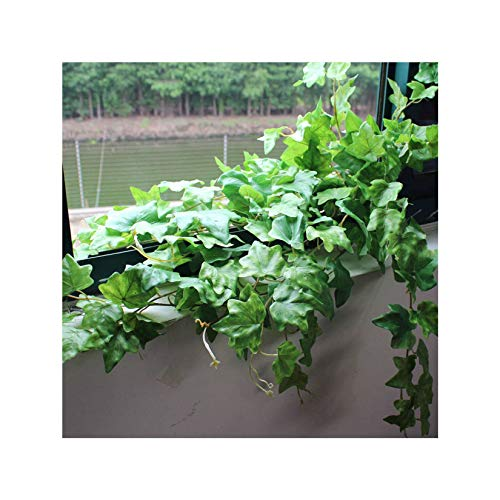 Outdoor Artificial Ivy, Beautiful Simulation Plant Wreath Fake Leaves Art Easy To Install Artificial Ivy Suitable For Party Decoration Garden Room Wedding Scene-04