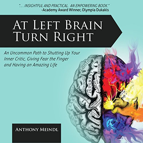 At Left Brain Turn Right audiobook cover art