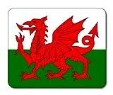 Walisische Flagge Mauspad, Wales, Flaggen