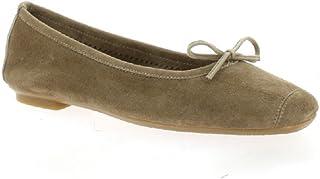 100% de qualité supérieure pourtant pas vulgaire style le plus récent Amazon.fr : Ballerines Reqins : Chaussures et Sacs