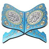 lailongp Holz Heiliges Bibel Gebetbuch Standhalter Regal für Eid Ramadan Dekoration # 4