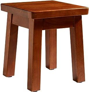 Sturdy stool - Petit tabouret carré Tabouret en bois massif Style chinois Simple Buanderie Tabouret Enfants Tabouret En ch...