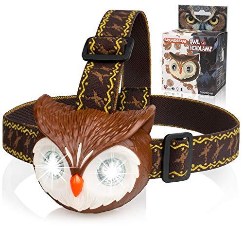 BROADREAM Toys Owl LED Headlamp...
