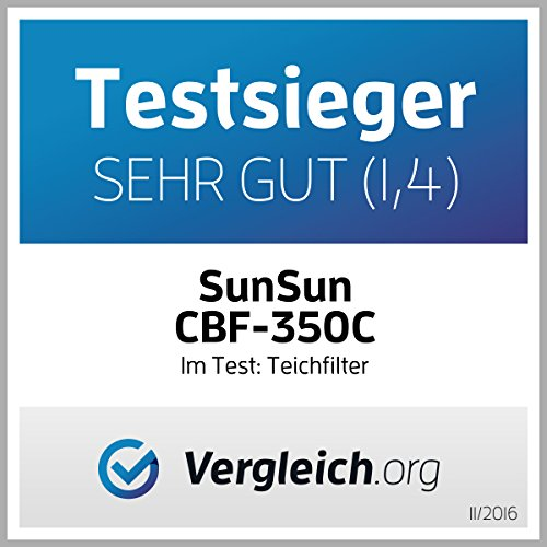 SunSun Bio Teichfilter Durchlauffilter CBF-350C bis 90000l - 5