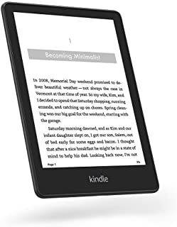 """Introducing Kindle Paperwhite Signature Edition (32 GB) – With a 6.8"""" display, wireless charging, and auto-adjusting front..."""