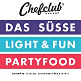 CHEFCLUB SET - 1 Set = 3 Kochbücher: Das Süße, Partyfood, Light & Fun