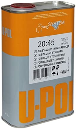 U-Pol Products 2452 System 2045 Stand Multi Thinner - 5 Liter