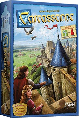 Carcassonne Asmodee - Juego de tejas - Idioma Francés