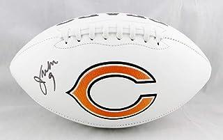 Jim McMahon Autographed Chicago Bears Logo Football- Beckett Auth
