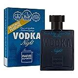 VODKA Night Perfume para hombre Eau de toilette pour homme Paris Elysees 100 ml Aromático - Amaderado