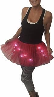 Women's LED Light Up Running Tutu   Glow Night 5K Run - One Size