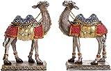 MLL Estatua, estatuas de Animales de Camello para, decoración de Escultura de Resina de Resina Adornos de Mesa de Oficina para el hogar