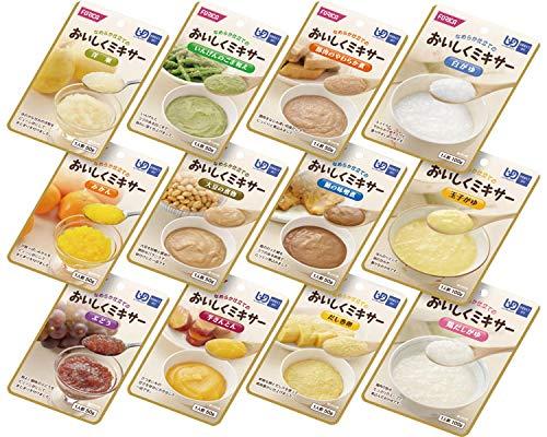 おいしくミキサー おかゆ&おかず&デザートのセット 12種×1袋